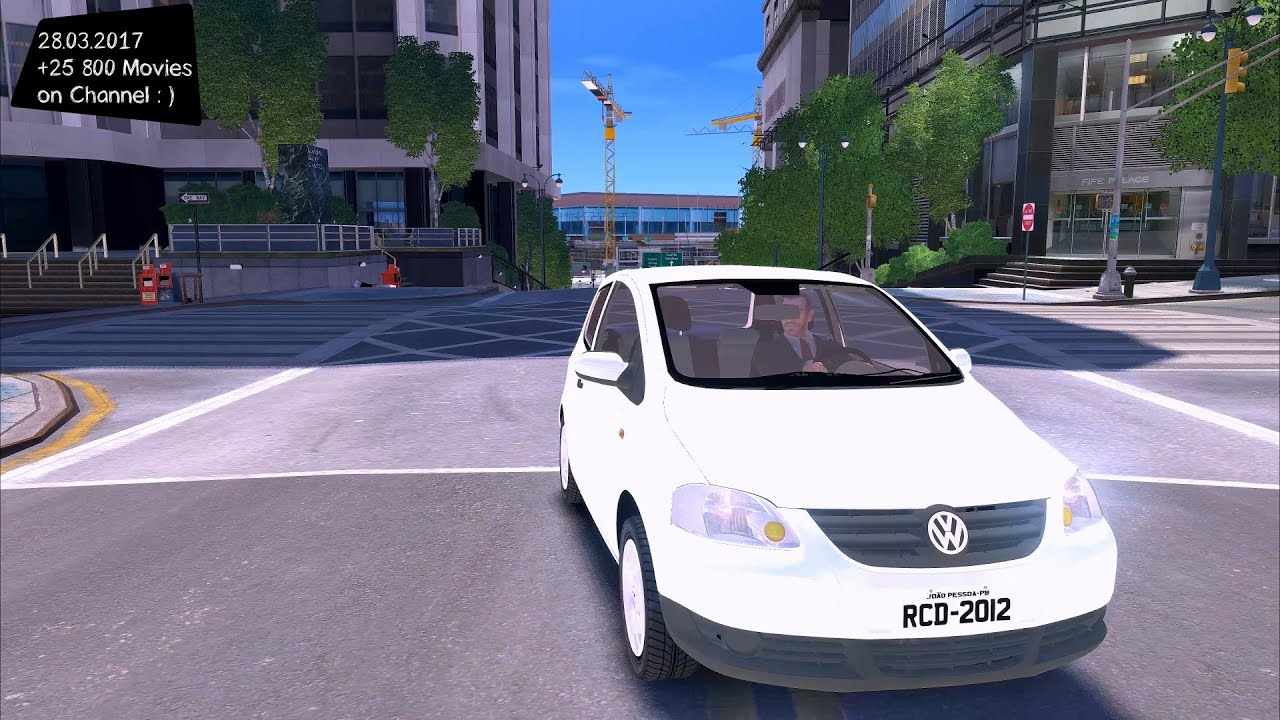 vw fox 2011 gta iv tuning 4k 60fps gtx 1080. Black Bedroom Furniture Sets. Home Design Ideas