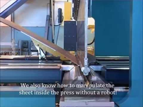 Ursviken Press Brake Automation - Heavy plate manipulation