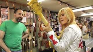 Guitar Shopping with LITA FORD on Metal Injection