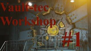 Fallout 4 Vault-tec Workshop 1  Вызывает Волт-Тек  Макс настройки