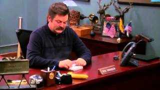 Ron Swanson Banana Burger