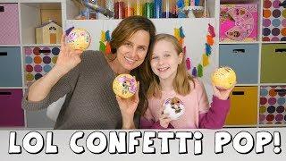 LOL Confetti Pop, LOL Pets, LOL Glitter Dolls | Amy Jo