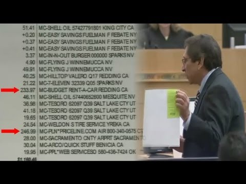 Jodi Arias' Bank Statement Exposes Her Lies About Priceline & Car Rental