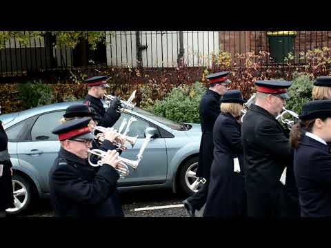 Bellshill Salvation Army Band Remembrance Day  2018 Part 2