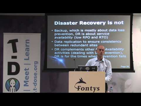 Building a Business Continuity Plan with Bareos and rear