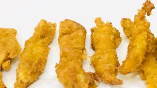 Crispy & Tasty Chicken Fingers!!!    Kids Recipe  crispy Chicken fry