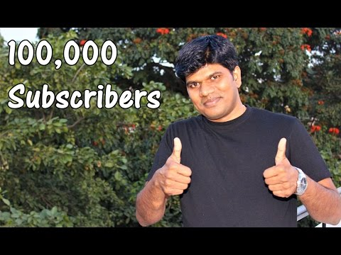 100,000 Subscribers to