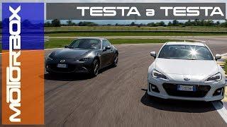 Mazda MX-5 RF vs Subaru BRZ: qual è la sportiva migliore?