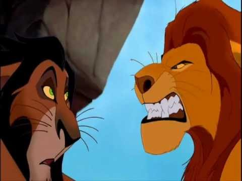 Lion King Scar And Mufasa I just like the Abuse....