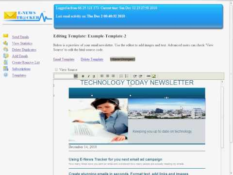 Email Marketing Script For Your Website! Learn How To Send Html Emails And Track Views!