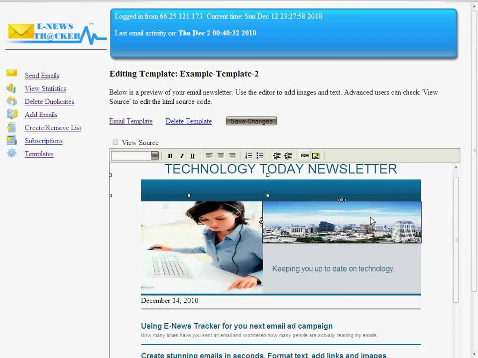 Email marketing script for your website! Learn how to send html ...