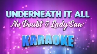 No Doubt Lady Saw Underneath It All Karaoke Lyrics