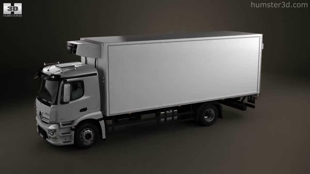Mercedes benz antos box truck 2012 by 3d model store for Mercedes benz box truck