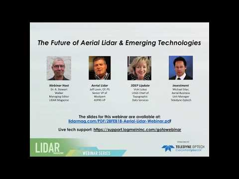 The Future of Aerial Lidar & Emerging Technologies