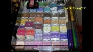 Part 1 Of 3 - My Makeup Collection 2012 - Nicka K, Nyx, Ulta & More!