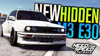 HIDDEN BMW E30 M3 Location  Customization  Need for Speed Payback