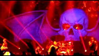stephen plays second heartbeat on stage with a7x in grand forks 12 9 11
