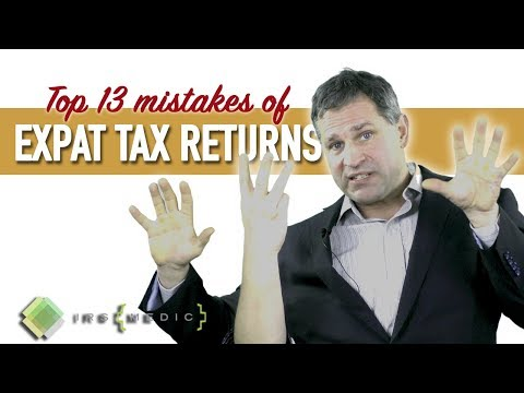Top 13 things US expat tax services get wrong when preparing returns