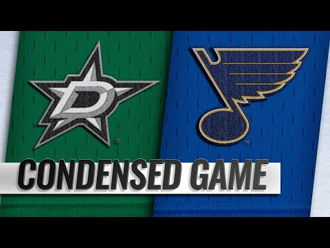 01/08/19 Condensed Game: Stars @ Blues