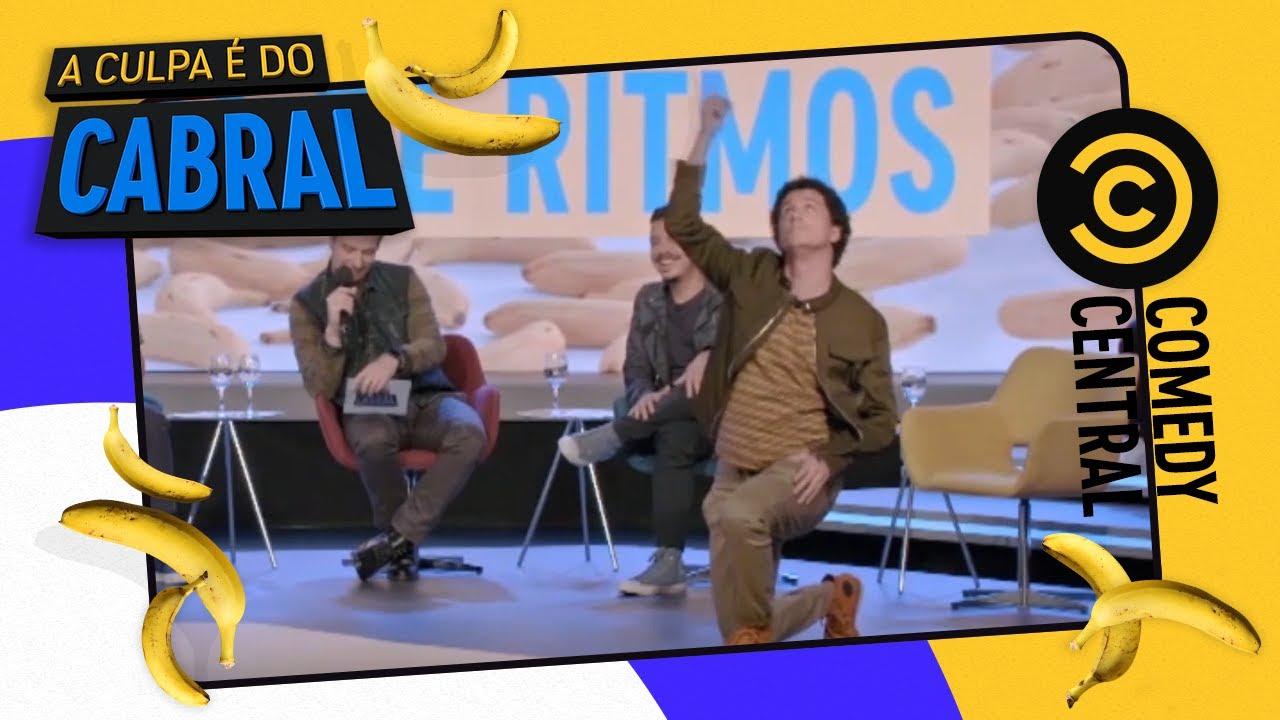 Uma NOVA batalha de RITMOS | Comedy Central A Culpa é do Cabral