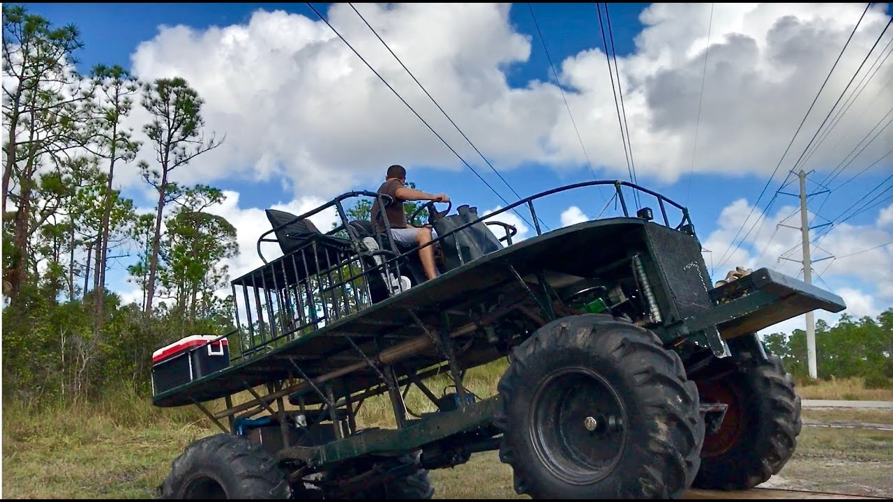 CRAZY SWAMP BUGGY (we got stuck) - YouTube