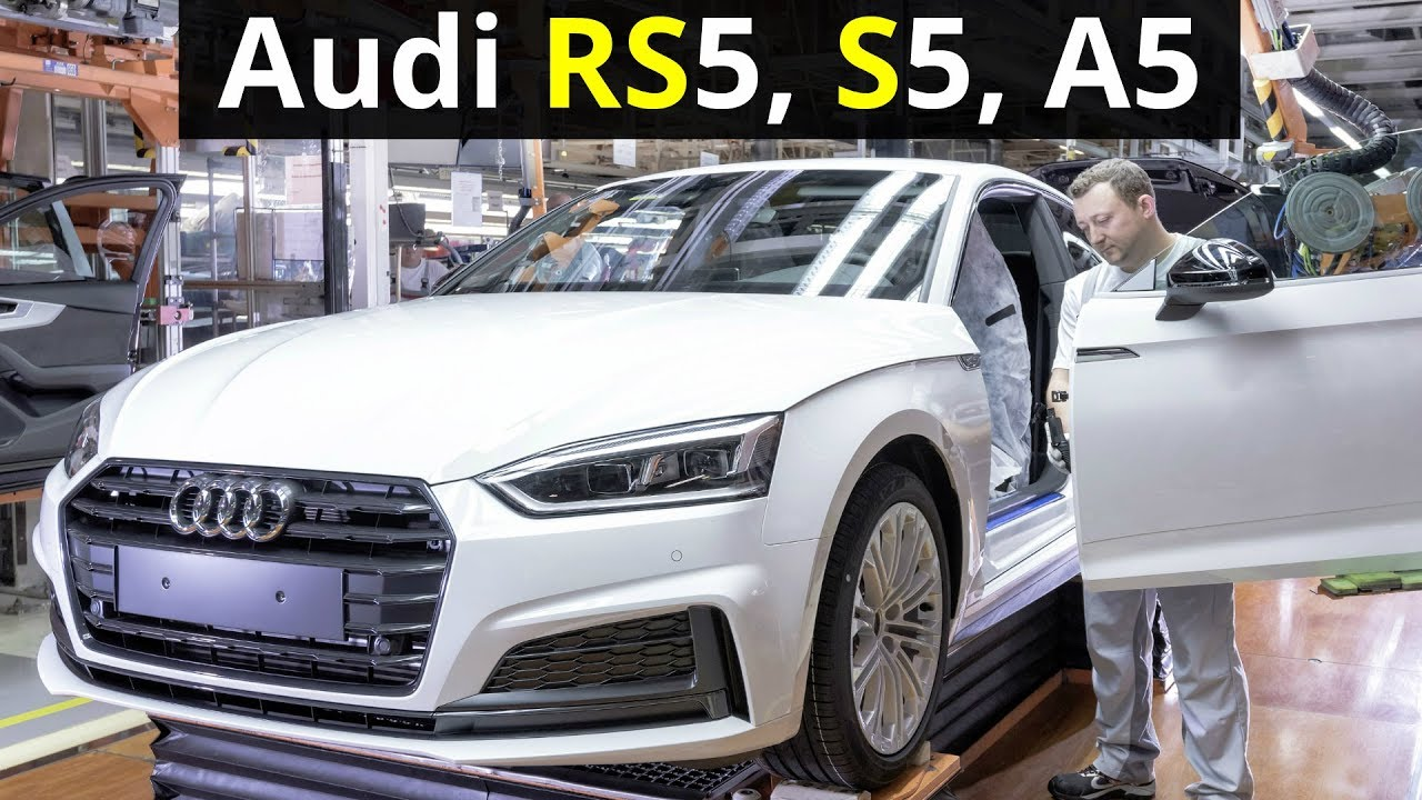 2018 Audi RS5, S5, A5, Q2 Production