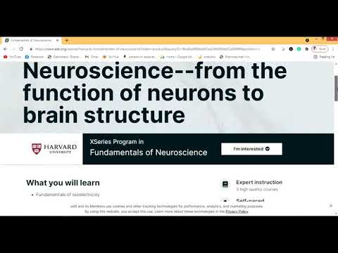 Free online course for Neuroscience - Review