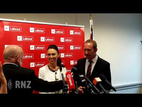 Jacinda Ardern is confirmed as Labour deputy leader