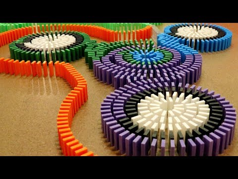 6,000 Dominoes for Charity! (Fidget Spinners + More!)