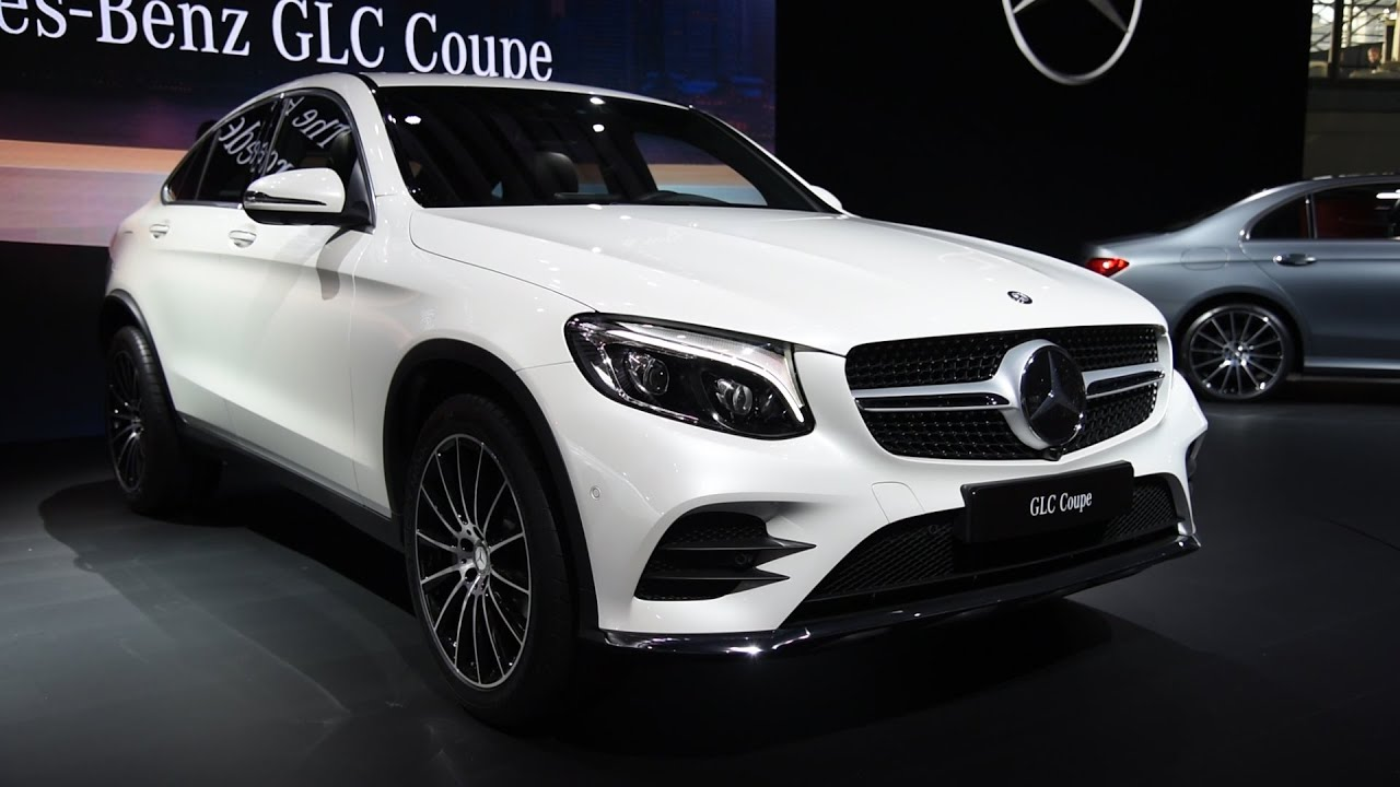 2017 mercedes benz glc coupe and glc43 amg first look 2016 new york auto show youtube. Black Bedroom Furniture Sets. Home Design Ideas