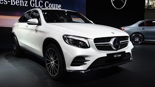 2017 Mercedes-Benz GLC Coupe and Glc43 AMG First Look - 2016 New York Auto Show