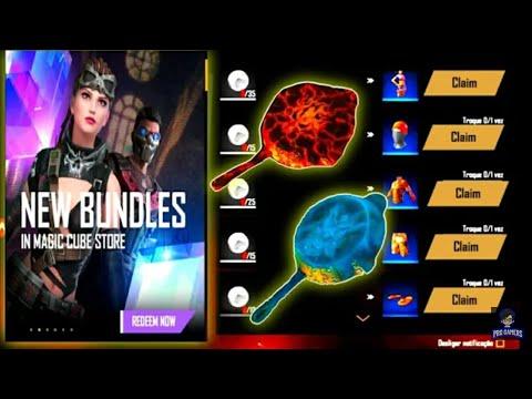 FREE FIRE NEW EVENT 😱 NEW MAGIC CUBE BUNDLE ️ FF GAMERS ...