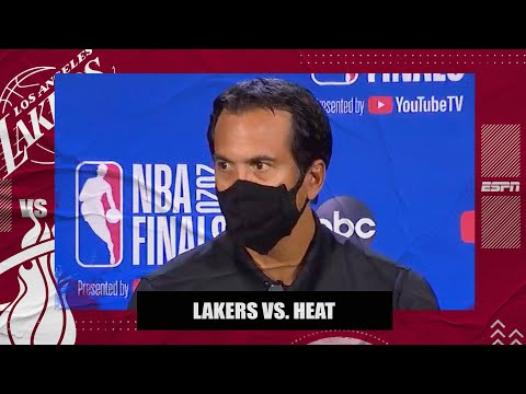 Erik Spoelstra disappointed Heat couldn't maintain control over Lakers in Game 1   2020 NBA Finals