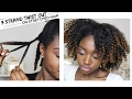 3 Strand Twist Out On Old Hair   The Mane Choice Tropical Moringa Collection