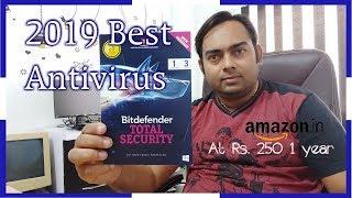 2019 best antivirus |  bitdefender total security