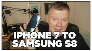Switching from iPhone 7 to Samsung S8 - Unboxing, How To Do It & Review!