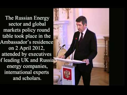 Yuri Shafranik on Russian energy sector