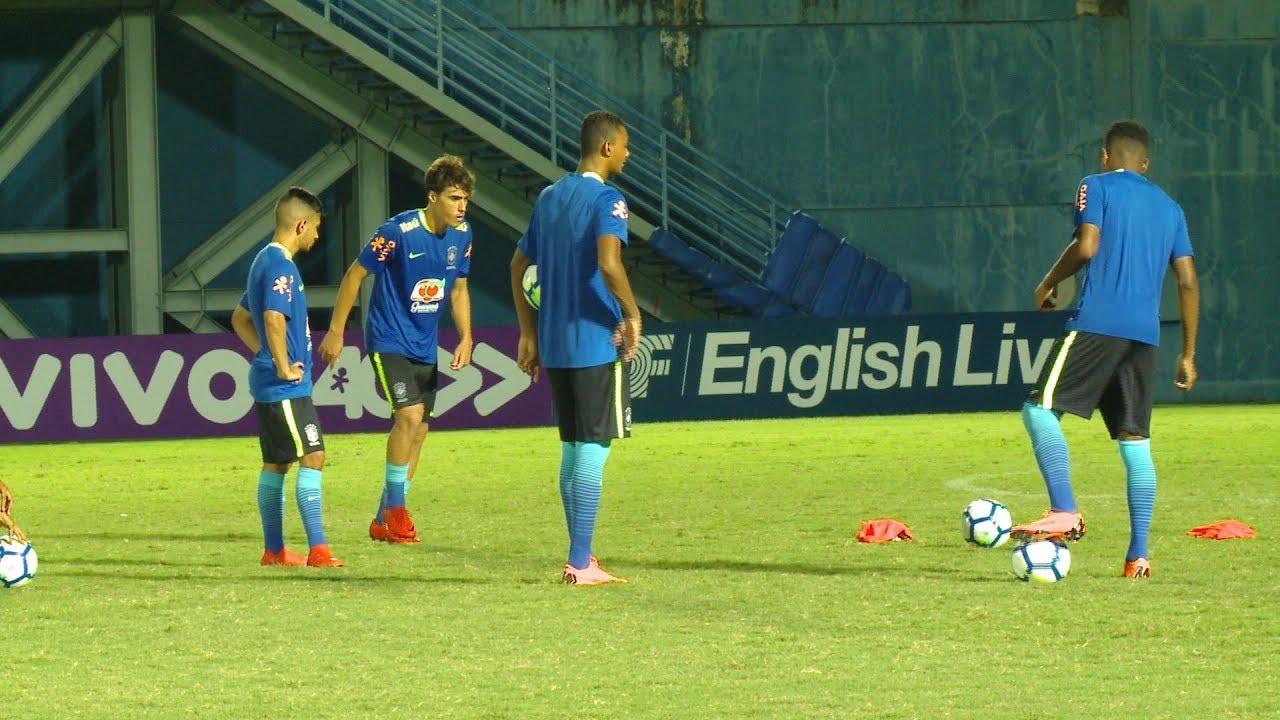76854db04a Seleção Brasileira Sub-20 mostra entrosamento em treino desta terça ...