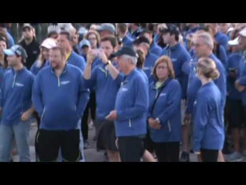 Mackinac Bridge Walk VIDEO 2016