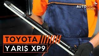 Kā nomainīt aizmugurējie amortizatori TOYOTA YARIS XP9 PAMĀCĪBA | AUTODOC