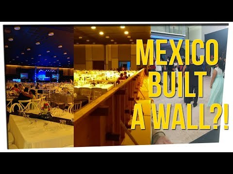 Mexican College Builds Wall at Graduation Party ft. DavidSoComedy