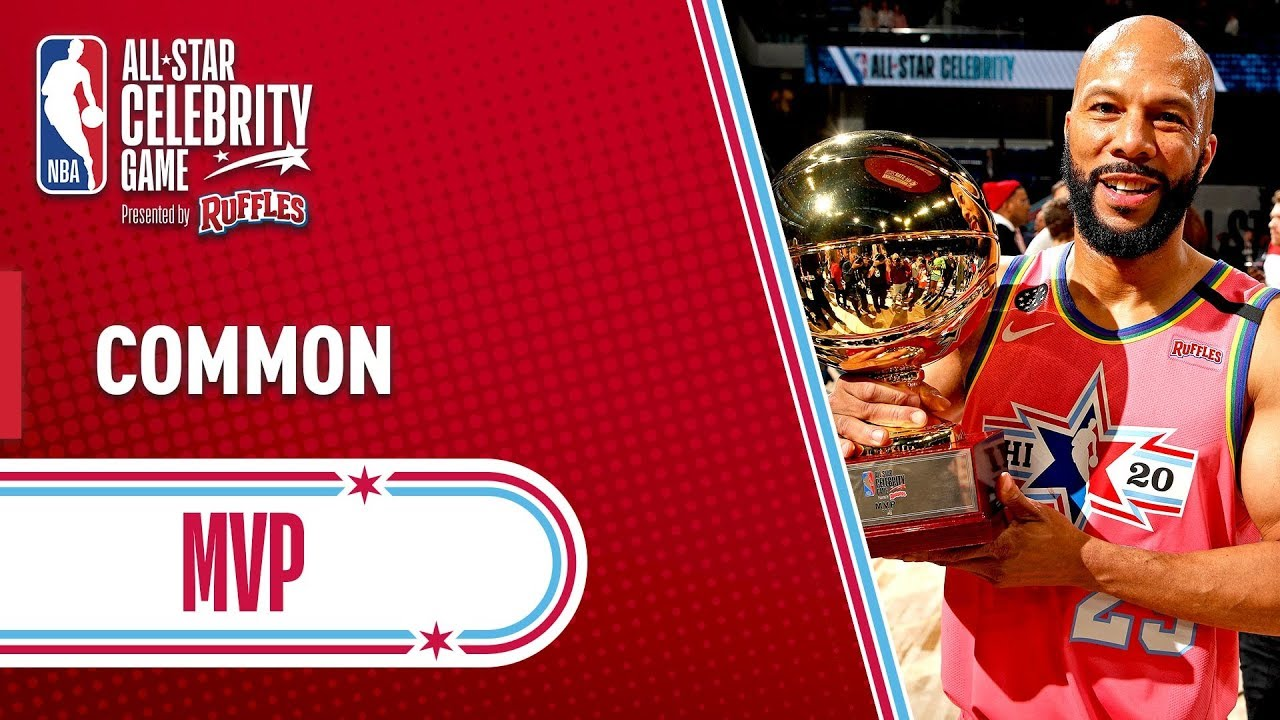 Common Takes Home The 2020 NBA Celebrity Game MVP! | 2020 NBA All-Star