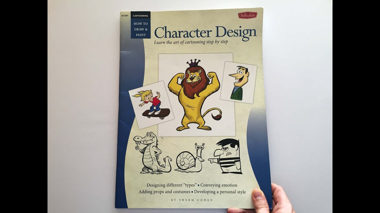 Cartooning Character Design Sherm Cohen Pdf : Flip through character design learn the art of