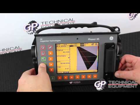 151028C- GE Phasor XS Phased Array Flaw Detector