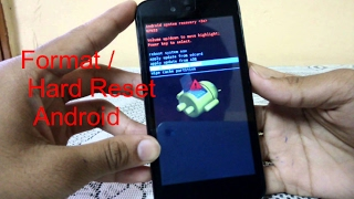 How To Format/ Hard Reset Android Phone