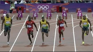 The Five Fastest Men in History - Bolt Blake Gay Powell Gatlin