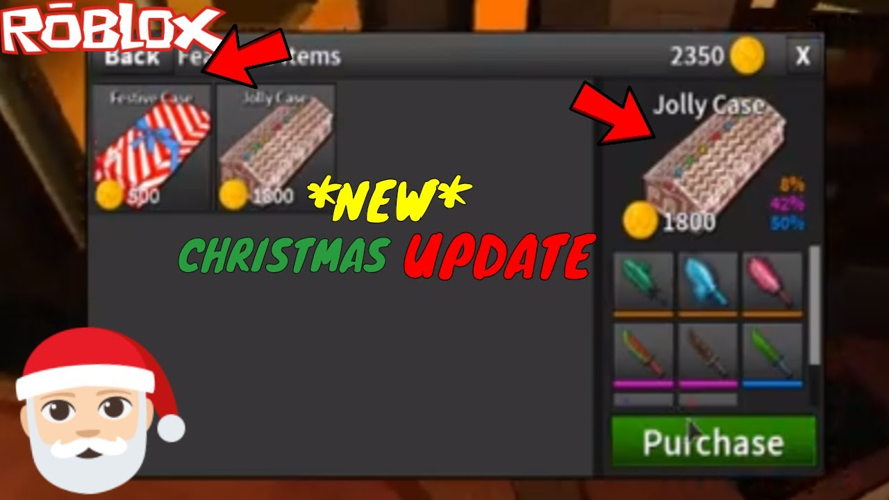 Roblox Upgrade 2018 The Brand New Christmas Update Is Finally Here New Cases And New Lobby Roblox Assassin Updates Youtube
