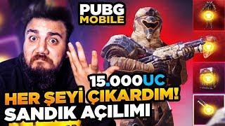 LAN EFSANE KIYAFET BUNLAR! PUBG Mobile SANDIK AÇILIMI!