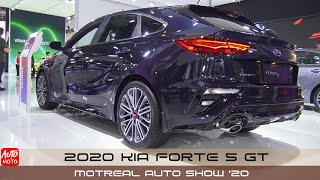 2020 KIA Forte 5 GT - Exterior And Interior - Montreal Auto Show 2020
