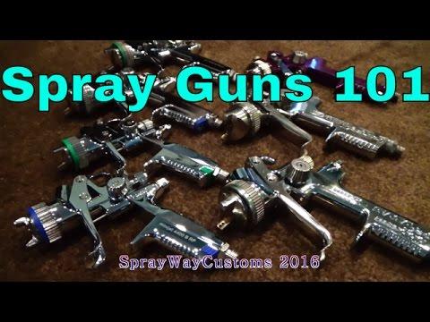 Spray Gun Setup - Cleaning - HVLP & RP / SATA minijet 4400, 3000, 2000, 90 & Harbor Freight Gun